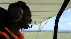 Patricia Mawuli is a certified pilot, aircraft engineer and the only African woman qualified to build Rotax engines - which are used to fly light aircraft. She now helps run the Aviation and Technology Academy Ghana (AvTech), near Ghana's capital, Accra. [source: BBC]