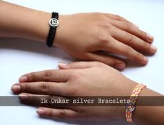 """""""Ik Onkar"""" symbolizes one supreme god which is a belief in Sikhism. In this blog you will find the important of Ik Onkar silver #Bracelets and why should one wear it."""
