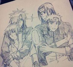 .Sasuke, Madara, Hashirama, Naruto