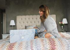 nettenestea annette haga soverom missoni sengeteppe seng puter blogger mac marmor marble skin mandag vg intervu august 2014 mote blogg