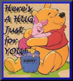 Pooh and piglet  best friends forever ....dedicate this picture to your best friend!!he or she will feel happy