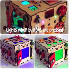 mazes busy box original birthday present for toddler with  lantern Activity board zipper switches abacus bell and buckles. locks