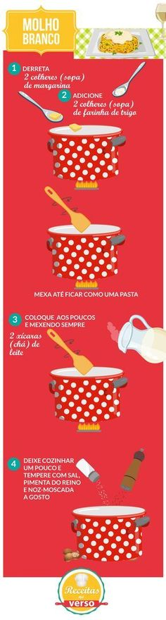 MOLHO BRANCO Just Cooking, Cooking Time, Cooking Recipes, I Love Food, Good Food, Yummy Food, Portuguese Recipes, Food Hacks, Food Inspiration