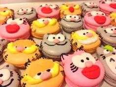 ⭐️Cute Macaron⭐️ by Love Macaroons  甜美瘋子 造型馬卡龍 嘉菲貓 Garfield
