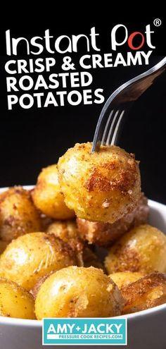 Pressure Cooker Roast, Pressure Cooker Potatoes, Pressure Cooker Recipes, Pressure Cooking, Easy Healthy Recipes, Vegetarian Recipes, Easy Meals, Healthy Food, Healthy Heart