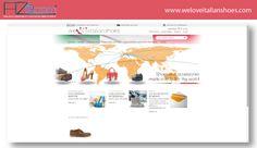 Screenshot del sito web E-commerce per l'azienda weloveitalianshoes.  Sito web: http://www.weloveitalianshoes.com