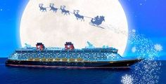 Experience a Halloween or Very MerryTime Disney Cruise!
