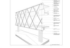 Gallery of This Large Structural Frame is Made From Laminated Wood - 29