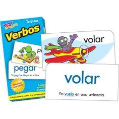 Spanish Verbs Skill Drill Flash Cards