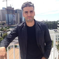 Oscar Isaac, star of HBO's Miniseries 'Show Me a Hero.' (Photo by @amayamario)