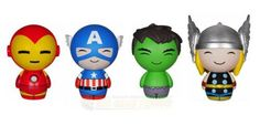 The Funko Dorbz Avengers Vinyl Figure Bundle offers an incredibly a-dorbz-able 3-inch tall figures. This Funko Dorbz Avengers Bundle contains Hulk, Thor, Iron Man, and Captain America. Whether you love the original comics or Marvel Studios' modern blockbusters, the Avengers  Dorbz Bundle is a perfect addition to any Marvel fan's collection! #funko #popvinyl #actionfigure #collectible #Dorbz #Avengers #Bundle