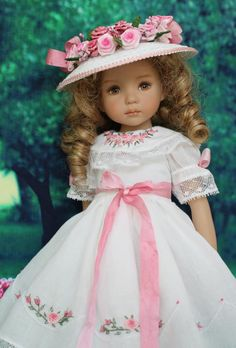 "Heirloom Ensemble for Effner 13"" Little Darling Dolls by Petite Princess Designs"