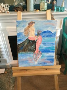 Mermaid painting I have just finished