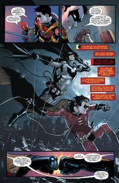Red hood/Arsenal Tim drake the clans kiss ass - Visit to grab an amazing super hero shirt now on sale! Nightwing, Batgirl, Son Of Batman, Batman Family, Batman Robin, Damian Wayne, Gotham City, Tim Drake Red Robin, Vigilante