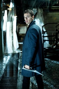 Theo James - Underworld: Awakening (The man should always play a vampire...I'm just sayin...)