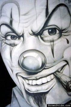 Gangsta Clowns | Gangsta Clown Image - Gangsta Clown Graphic Code