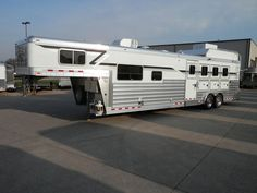 """New 2015 4-Star 8 x 31 x 7'6"""" 4H Slant with 14' Trail Boss Conversions. Rob King @ Murphy Trailer Sales (765) 323-3005"""