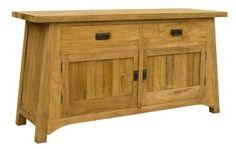 Asia Credenza (Wood Doors)