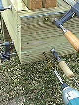 How To Install 4x4 Posts For Deck Handrails - Framing/Structure For Synthetic Railing Systems