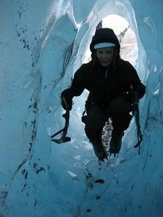 Buarbreen glacier, Odda. An arm of the Folgefonna glacier in Hardangerfjord, Norway. www.opplevodda.com