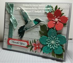Picture Perfect meets Botanical Blooms: Stamp in Up!  - by Karen Squires, Stampin by the bay