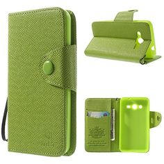 Protective Cases, Cell Phone Accessories, Leather Wallet, Phones, Core, Samsung Galaxy, Amazon, Green, Amazons