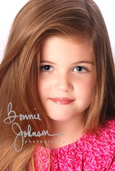 Kids Acting Headshots: What to wear? A pretty printed dress with a subtle print.