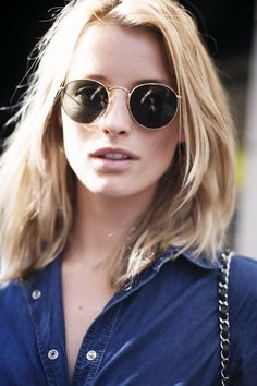Mid-length hairstyles earned their popularity among girls for it versatility shape and style. Today, we'll give you some amazing pictures of the fabulous dreamy-like mid-length hairstyles. You can find your new hairstyle inspiration here. Cheap Ray Bans, Cheap Ray Ban Sunglasses, Sunglasses Outlet, Sunglasses Women, Sunglasses Online, Sunglasses 2016, Round Sunglasses, Celebrity Sunglasses, Discount Sunglasses