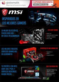 MSI, inspirado en los mejores gamers