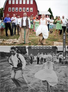 potato sack races   CHECK OUT MORE IDEAS AT WEDDINGPINS.NET   #weddings #weddinginspiration #inspirational