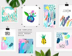 """Check out new work on my @Behance portfolio: """"HUGE graphic set"""" http://be.net/gallery/41465573/HUGE-graphic-set"""