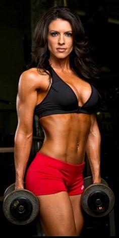 Amanda Latona - IFBB Bikini Pro and fitness model. #fitness #women #hardbodies #motivation
