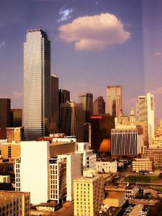 Dallas, TX - Great City but easy to get lost on that highway!