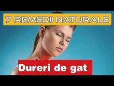 Durerile de gat. Gargara si remedii naturale. Lecuieste rapid gatul cu lamaia, mierea, usturoiul .. - YouTube Youtube, Youtubers, Youtube Movies