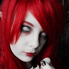 Cosplay test 2 für die KiAi  #cosplay #cosplayphoto #manga #anime #makeup #cosplaymakeup #demon #blinddemon