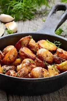 Oven Roasted Parmesan Potatoes Recipe