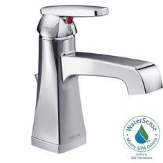 Delta Ashlyn Single Hole Single-Handle High-Arc Bathroom Faucet in Chrome