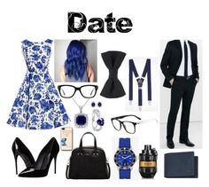 """""""Date"""" by sbaez-2 ❤ liked on Polyvore featuring Express, Dolce&Gabbana, Furla, Converse, CARAT*, Miadora, Amour, Mulberry, Viktor & Rolf and Lacoste"""
