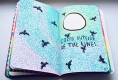 Идеи для личного дневника-ЛД Wreck This Journal, The Outsiders, Phone Cases, Drawings, Color, Art, Journal Ideas, Art Background, Colour
