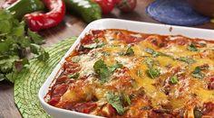 El ser #vegetariano no significa renunciar a todos tus platillos favoritos. ¡Adáptalos! Aquí te dejamos una receta para unas deliciosas #enchiladas