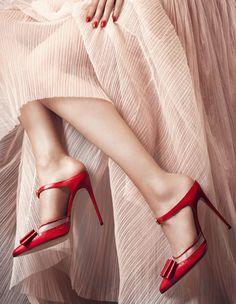 Bionda Castana AW'14/15 #red #shoes #redshoes #style #fashion #mode #godsaveshoes