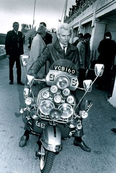 """Sting in """"Quadrophenia"""". He may've been pretentious already, but as """"The Face"""", it worked."""