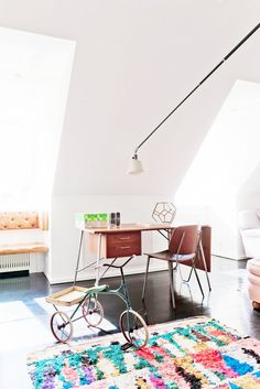 Inside a Colorful Family Home in Copenhagen via @domainehome