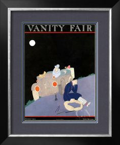 Vanity Fair Cover - January 1922 Poster Print by A. H. Fish at the Condé Nast Collection