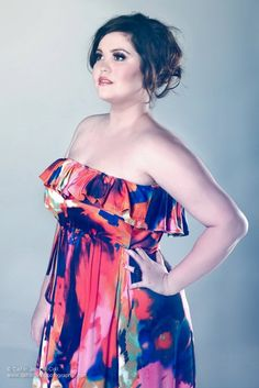 Samantha Morris Plus Size Model