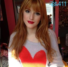 bella thorne lipstick | bella thorne feb 15 2013 1 kisses 1 Kisses From Bella Thorne February ...