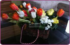 fllowers'bag, a special gift for a loved one.