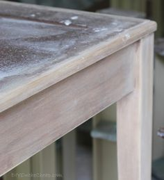 How to Strip Furniture - DIY on the Cheap