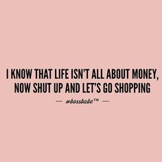 When you've already established that part about life but your favorite store is having sale. Join the #Bossbabe Netwerk (Click The Link In Our Profile Now! ) Follow @bossbabealex & @millennialrichgirl  now for more inspo!