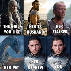 Game of Thrones Jonerys meme